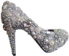 Image detail for -Beautiful Wedding-Bridal Shoes | weddingoo.com