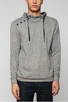The Narrows Asymmetrical Pullover Hoodie Sweatshirt