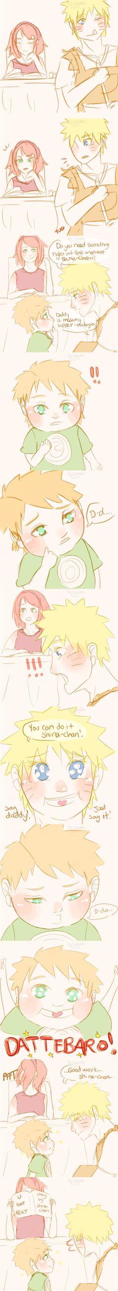 Naruto AU - Dattebaro by Kirabook on DeviantArt