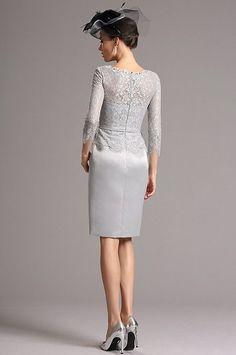 Sivé koktejlové šaty E00818 Dresses For Work, Formal Dresses, White Dress, Fashion, Dresses For Formal, Moda, Formal Gowns, Fashion Styles, Formal Dress
