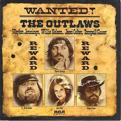 Willie Nelson Waylon Jennings Wanted! The Outlaws – Knick Knack Records