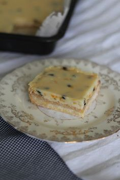 passionfruit bars - Homegrown & Healthy