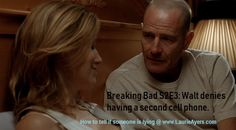 If you ask a yes or no question, listen to ensure you get a yes or no response. Here's an example from Breaking Bad when Walter is lying to Skyler about having a second cell phone. #breakingbad #deception #lies