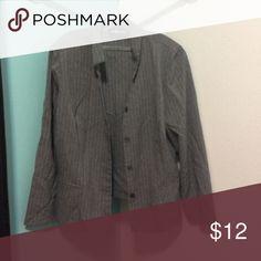 Blazer Pinstriped blazer Sag Harbor Jackets & Coats Blazers