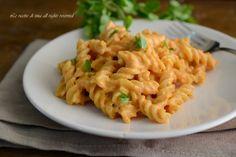 Pasta peperoni e philadelphia,un primo piatto cremoso,facile e veloce
