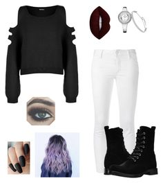 """Untitled #36"" by btszsofi on Polyvore featuring WearAll, Dsquared2, Frye and Lime Crime"