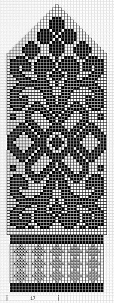 Mustrilaegas: Labakinnas fair isle knit chart beautiful More mitten patterns at this site. Knitted Mittens Pattern, Fair Isle Knitting Patterns, Crochet Mittens, Bead Loom Patterns, Crochet Stitches Chart, Knitting Charts, Knitting Stitches, Mochila Crochet, Tapestry Crochet