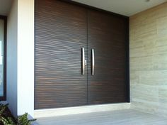 Double Shiver Doors | Treasury Bronze Smooth Pearl