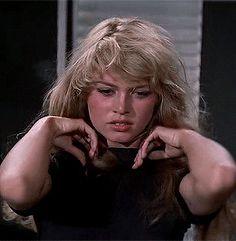 Brigitte Bardot in Et Dieu… créa la femme (1956), dir. Roger Vadim.