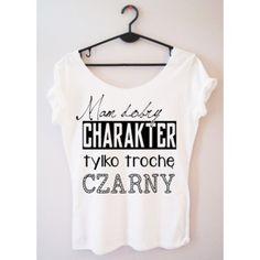 Time For Fashion Mam dobry charakter / t-shirt biały