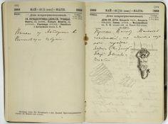 Vassily KANDINSKY, Carnet de voyage en Vologda,1889