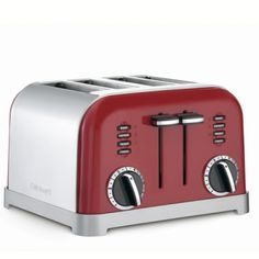 The curated kitchen: cheery cherry red kitchen appliances