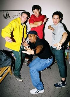 Chuck D with the Beastie Bouts