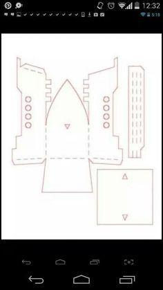 moldes en papel del barco de jake - Buscar con Google