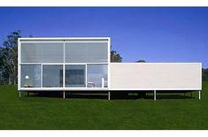 Modern Modular prefab home designed by Collins & Turner.