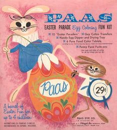 They're up to something! We can't get enough of this #vintagePAAS kit from the 1960s.