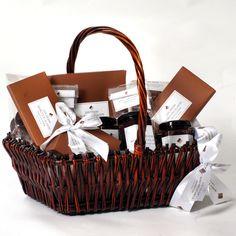 festin de ciocolata naturala intr-un Cos Craciun Cos, Picnic, Basket, Picnics