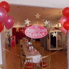 Fun American Girl Tea Party!