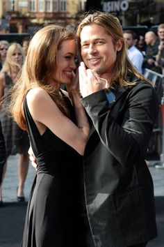 angelina jolie and brad pitt - i love this couple so much