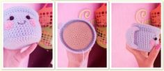 tea cup amigurumi food pattern