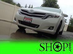 Toyota Venza White SUV Window Tinting by The Spokane Shop