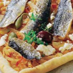 Pizza de sardinas