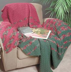 Corner to Corner Afghan Courtesy of Bernat  For Designs For America from Solutia