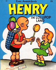 Henry In Lollipop Land. Wonder Books 1953