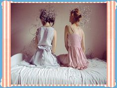 Image discovered by `imfreaky. Find images and videos about girl and bed on We Heart It - the app to get lost in what you love. Ribbon Bows, Ribbons, Pretty Hairstyles, Girly Things, Casual Outfits, Flower Girl Dresses, Wedding Dresses, Hair Styles, People