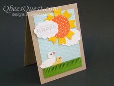 Qbee's Quest: You Make Me Happy Sale-A-Bration Card