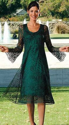 Soulmates Silk Evening Dress D8152 at frenchnovelty.com