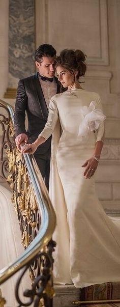 Sandro, Wedding Bride, Dream Wedding, Enchanted Evening, Black Tie Affair, Glamour, French Wedding, Beautiful One, Formal
