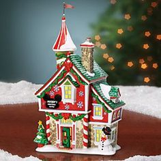 Mickey Mouse ''Mickey's Christmas Castle'' Building by Dept. 56