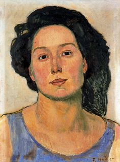 FERDINAND HODLER ......   3/14/1853 - 5/19/1918 ....... Swiss .         He seems to paint this woman repeatedly.