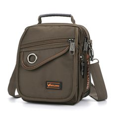 Sale 23% (18.28$) - Multifunctional Men Nylon Outdoor Sport Shoulder Bag Small Crossbody Bag