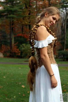 Wrapped Braid for extremely long #hair.