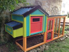 Chicken Coop - Where Green Eggs and Ham Come From!!!