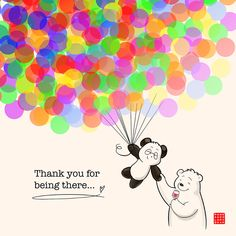 Thank you for being there – Today we turned 4 years old – Panda and Polar Bear Happy Birthday Bear, Happy Birthday Drawings, Panda Wallpapers, Cute Cartoon Wallpapers, Cute Animal Drawings Kawaii, Cute Drawings, Cute Panda Cartoon, Polar Bear Drawing, Cute Panda Wallpaper