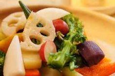 新鮮な野菜をふんだんに使ったバーニャカウダ♪ファルファーレ