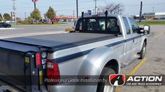 Cab guard by Backrack Inc. with riser kit to accommodate the tonneau cover. Installed by our store in London, ON #ProfessionalGradeInstallation