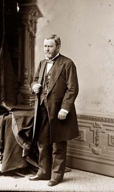 """chubachus: """" Animated time-lapse portrait of Ulysses S. Grant after his return from his world tour originally titled """"U. Grant after European trip,"""" c. Attributed to Mathew Brady. Past Presidents, American Presidents, American Civil War, American History, Presidential History, Presidential Portraits, Ulysses S Grant, Civil War Photos, Interesting History"""