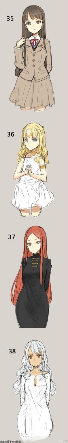 【你最喜欢哪种风格?】42种各具特色的萌妹... 来自腐宅姬 - 微博