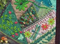 Image result for Crazy Quilting