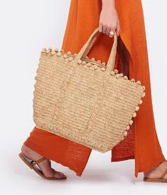 Cabas Vanessa Bruno, Nude Bags, Summer Bags, Luxury Bags, Beautiful Crochet, Straw Bag, Reusable Tote Bags, Dressing, Joy