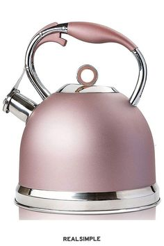 Kettle And Toaster Set, Tea Infuser Bottle, Retro Kitchen Appliances, How To Whistle Loud, Fall Accessories, Gas Stove, Tea Pots, Rose Gold, Stainless Steel