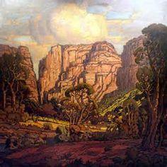 Pierneef Rustenburgkloof, oil on canvas Oliewenhuis Art Museum, Bloemfontein… African Paintings, South African Artists, Africa Art, Inspirational Artwork, Landscape Art, Lovers Art, Art Museum, Concept Art, Art Projects