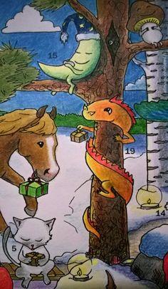 Yhdeksästoista luukku - Tarinatädin joulukalenteri