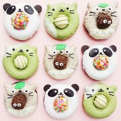 Australian baker Vickie Liu also makes some attractive cookies, but what makes her account unique is her collection of adorable doughnuts.