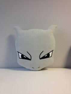 Mewtwo Pokemon manga anime handmade pillows by YxPxPxY on Etsy