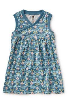 Tea Collection 'Hidden Butterflies' Faux Wrap Dress (Toddler Girls, Little Girls & Big Girls) available at #Nordstrom